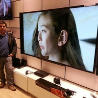 Photo taken at Sony Store by Outsider L. on 6/4/2013