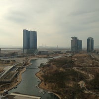 Photo taken at Sheraton Incheon Hotel by Byung June C. on 3/2/2013