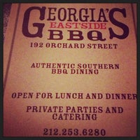 Georgia's Eastside BBQ