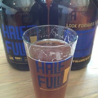 Photo taken at Half Full Brewery by Porter H. on 4/6/2013