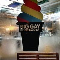 Das Foto wurde bei Big Gay Ice Cream Shop von Kelly am 1/31/2013 aufgenommen