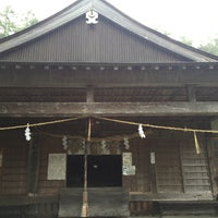 Photo taken at 劔神社 by おはぎ on 7/23/2016