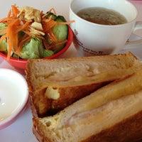 Photo taken at Sora Pan - Sora Café by おはぎ on 11/19/2012