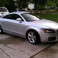 Photo taken at Schmitt's Audi Volkswagen by Ronald W. on 8/8/2013