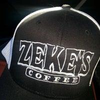 Photo taken at Zeke's Coffee (retail) by Dark K. on 2/14/2013