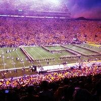 Photo taken at Tiger Stadium by Margaret B. on 10/14/2012