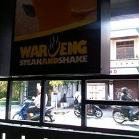 Photo taken at Waroeng Steak & Shake by rio b. on 11/19/2012