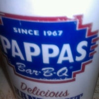 Photo taken at Pappas Bar-B-Q by Stephanie S. on 10/28/2012