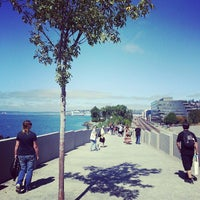 Photo taken at Olympic Sculpture Park by Siege L. on 8/18/2013