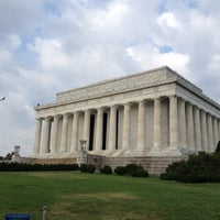 Photo taken at Lincoln Memorial Reflecting Pool by Myers B. on 7/27/2013