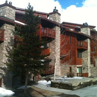 Photo taken at Pine Ridge Condominiums Breckenridge by Todd S. on 4/5/2013
