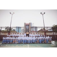 Photo taken at SMA Trimurti Surabaya by philiarista on 11/6/2014