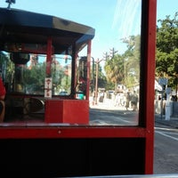 Photo taken at St Augustine Tour Trolley by Hosu K. on 12/21/2013