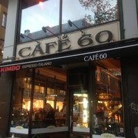 Photo taken at Café 60 by Natasha A. on 10/23/2012