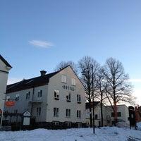 Photo taken at Hotell Blå Blom by Natasha A. on 3/28/2013
