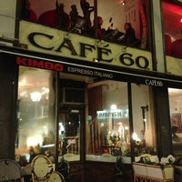 Photo taken at Café 60 by Natasha A. on 1/23/2013