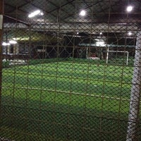 Photo taken at Cimahpar Futsal by Dede W. on 7/29/2014