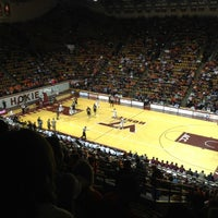 Photo taken at Cassell Coliseum by Jeff N. on 11/23/2012
