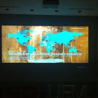 Photo taken at Auditorio Milton Friedman UFM by Selvin D. on 2/27/2013