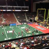 Photo taken at Jacksonville Veterans Memorial Arena by Tim S. on 4/12/2013