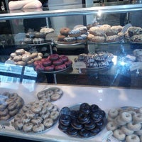 Photo taken at Mighty-O Donuts by Marisol R. on 1/27/2013