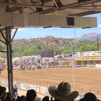 Photo taken at Prescott Rodeo Grounds by Meghan B. on 7/4/2018