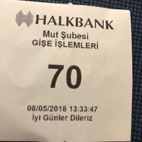 Photo taken at Halkbank by Beter D. on 5/8/2018