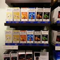 Photo taken at Lindt Factory Outlet by David M. on 12/2/2012