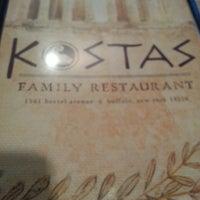 Photo taken at Kostas Family Restaurant by David M. on 8/8/2013