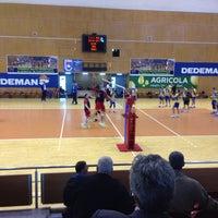 Photo taken at Sala Sporturilor by Claudel F. on 5/13/2016