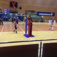 Photo taken at Sala Sporturilor by Claudel F. on 2/13/2016