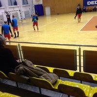 Photo taken at Sala Sporturilor by Claudel F. on 3/19/2016