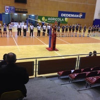 Photo taken at Sala Sporturilor by Claudel F. on 10/22/2016