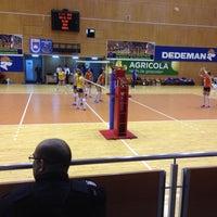 Photo taken at Sala Sporturilor by Claudel F. on 3/2/2016