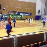 Photo taken at Sala Sporturilor by Claudel F. on 4/2/2016