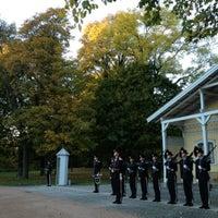 Photo taken at Slottsparken by Ivars Š. on 10/10/2012