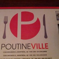 Photo taken at Poutineville by Marc-André I. on 4/21/2013