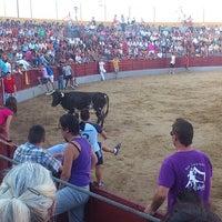 Photo taken at Plaza de toros de Añora by Jose B. on 8/27/2013