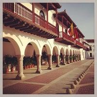 Photo taken at Centro Histórico de Cartagena / Ciudad Amurallada by Justin B. on 5/28/2013