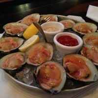 Photo taken at Docks Oyster Bar by Justin B. on 3/21/2013