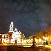 Photo taken at Plaza de Santo Domingo by Mark マーク N. on 6/27/2013
