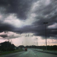 Photo taken at South Klang Valley Expressway (SKVE) by Anas A. on 1/21/2013