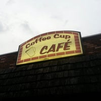 Photo taken at The Coffee Cup Cafe by Monte G. on 10/13/2012