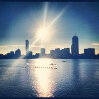 Photo taken at Harvard Bridge by Ryan L. on 11/14/2012