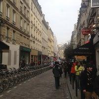 Photo taken at Rue de la Harpe by Алексей Д. on 3/26/2013