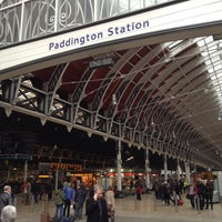 Photo taken at London Paddington Railway Station (PAD) by Radik A. on 11/16/2012