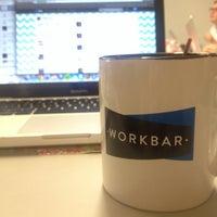 Photo taken at Workbar by Teagan on 9/20/2013
