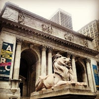 Photo taken at New York Public Library - Stephen A. Schwarzman Building Celeste Bartos Forum by Mauro F. on 4/5/2014