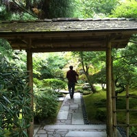 Photo taken at Portland Japanese Garden by Nicole M. on 9/21/2012