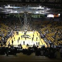 Photo taken at Coors Events Center by rich s. on 3/8/2013
